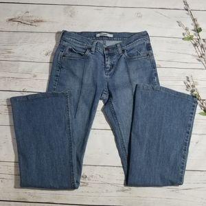 Mavi Joy Flare/Wide Medium Wash Jeans